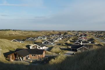 Ferienhaussiedlung in Jütland Dänemark