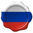 Wachssiegel Russland