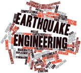 Word cloud for Earthquake engineering