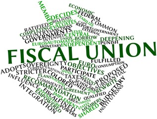 Word cloud for Fiscal union
