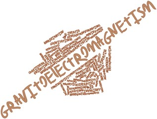 Word cloud for Gravitoelectromagnetism