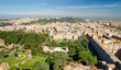 View of Rome cityscape