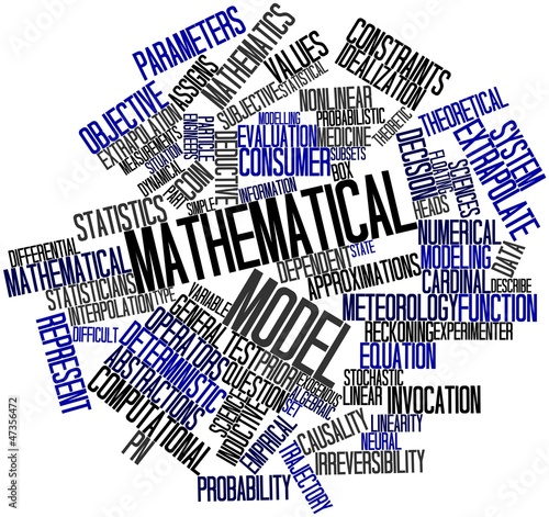 Word cloud for Mathematical model