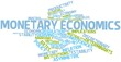 Word cloud for Monetary economics