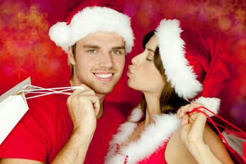kuss weihnachten