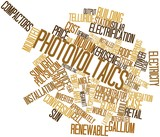 Word cloud for Photovoltaics