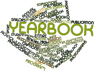 Word cloud for Yearbook