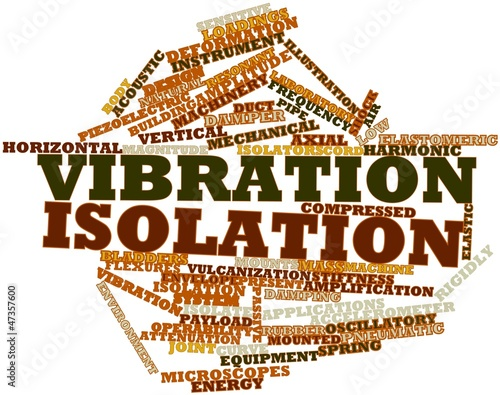 Word cloud for Vibration isolation