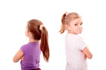 Streit zwischen Freundinnen