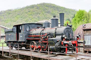 steam locomotive, Resavica, Serbia