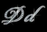 Script Diamond Bling Dd Letters poster