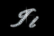 Script Diamond Bling Ii Letters