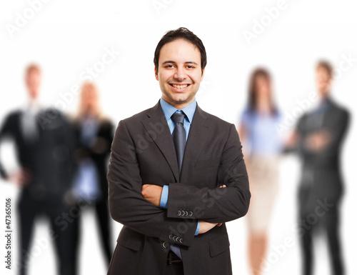 Leader portrait