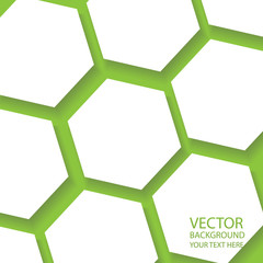 hexagon vector background