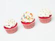multicolor cupcakes
