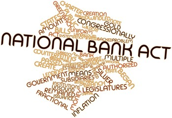 Word cloud for National Bank Act
