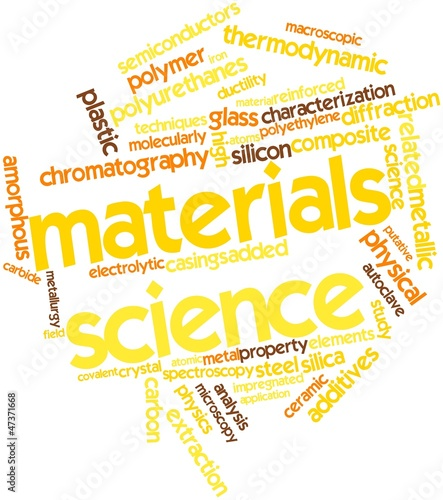 Word cloud for Materials science