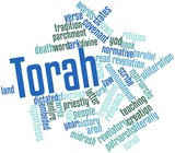 Word cloud for Torah