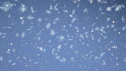 snow flakes background