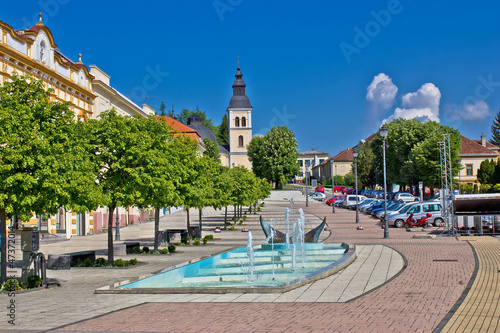 Town of Daruvar main square