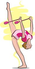 rhythmic gymnastics - clubs