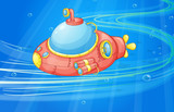 under water submarine