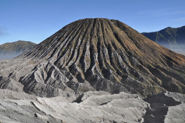 Volcano in Gunung Bromo valley