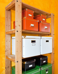 Cardboard boxes for organizing