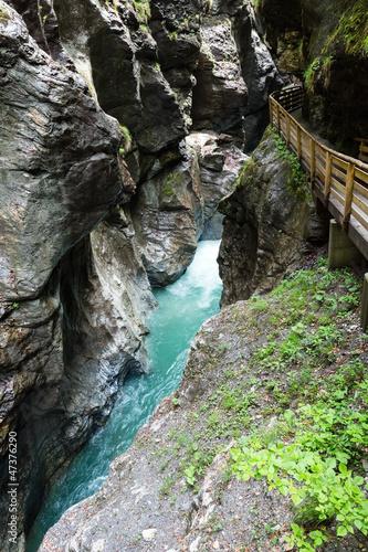 Liechtensteinklamm gorge  (Austria).