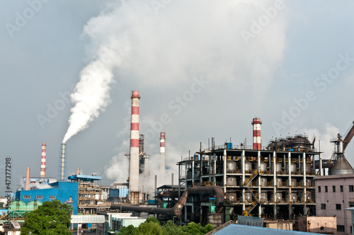 Steel plant pollution