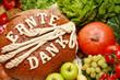 Erntedankbrot, Obst & Gemüse
