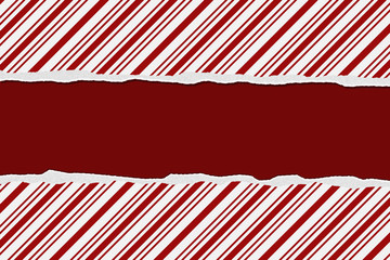 Christmas Candy Cane Striped background for your message or invi