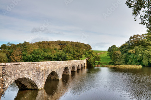 Eight Arch Bridge over Lily Ponds, Bosherston.