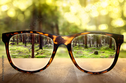 Leinwanddruck Bild Clear Vision