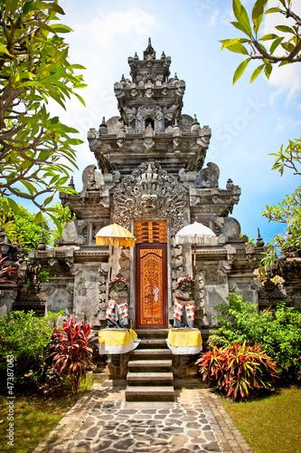 Foto op Plexiglas Indonesië Pura Prasasti Blanjong Temple in Undang, Bali, Indonesia