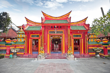 Caow Eng Bio chinese Buddhiist Temple in Tanjung Benoa near Nusa