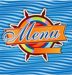 rudder  menu1