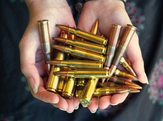 handful of bullets