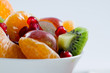 Diet, healthy breakfast - fruit salad