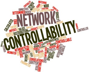 Word cloud for Network controllability