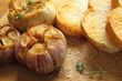 Roasted garlic.