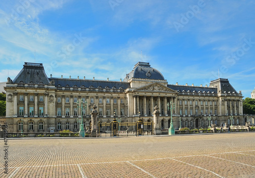 The Royal Palace in center of Brussels