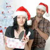 Bügeleisen zu Weihnachten
