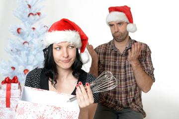 Frustriert übers Geschenk