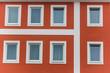 Fenster eines Wohnhauses
