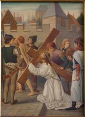 Brussels -  Jesus Carries His Cross.