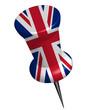 Pinnadel Großbritannien