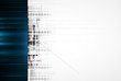 Abstract high technology dynamic fade banner background