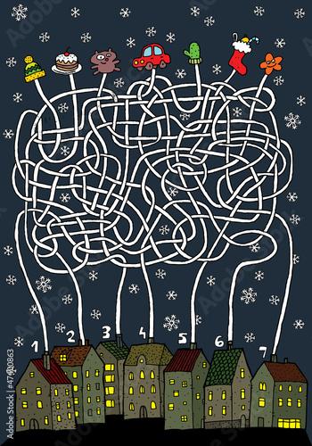 christmas-maze-game