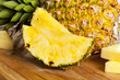 Fresh Yellow Organic Pineapple